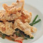Пеште ку мождей (отварной судак, с картофельным гарниром) Вторые блюда Молдавская кухня