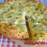 Пицца по-деревенски Пицца