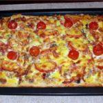 Пицца по-домашнему Пицца