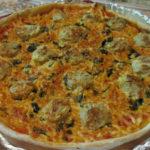 Пицца по-студенчески Пицца