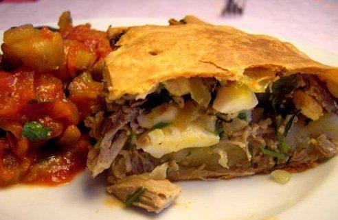 Пирог ржаной со свининой Эстонская кухня