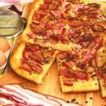 Пирог с грудинкой «Остренький» Выпечка Пироги