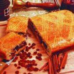 Пирог с изюмом «Новоселье» Выпечка Пироги