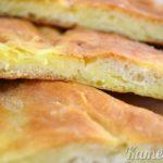 Пирог с начинкой из картофеля и брынзы Выпечка Пироги