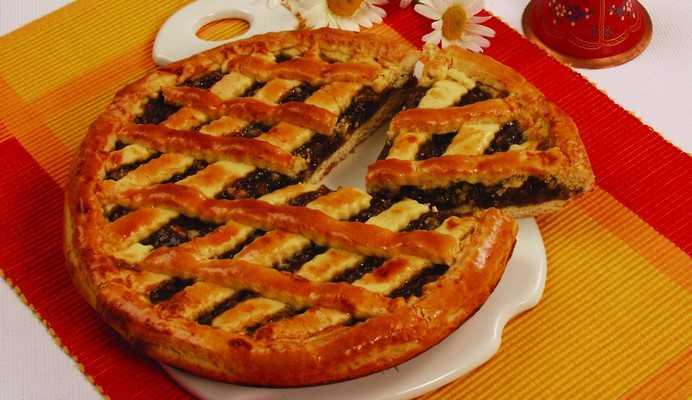 Пирог с повидлом «Стряпуха» Выпечка Пироги