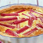 Пирог с ревенем Американская кухня