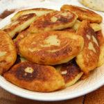 Пирожки картофельные с капустой Белорусская кухня