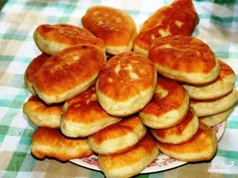 Пирожки с картофелем жареные Из картошки