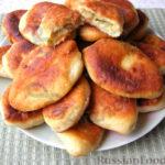 Пирожки с картофельной начинкой Выпечка Пирожки