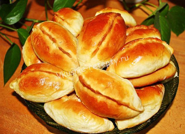 Пирожки с мясом и рисом «От любимой бабушки»