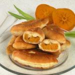 Пирожки с начинкой из хурмы Туркменская кухня