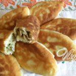 Пирожки с рисом и грибами Пирожки