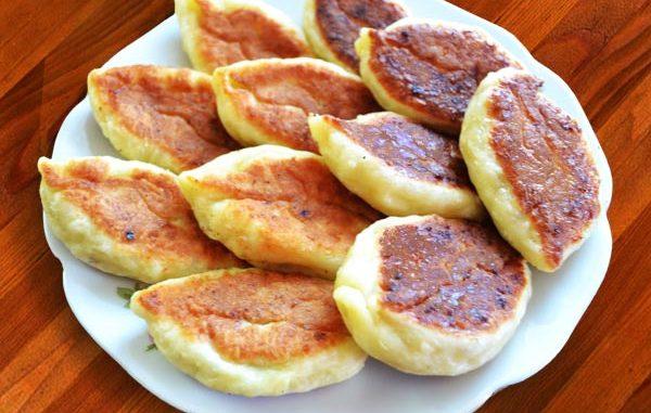 Пирожки со сладкой рисовой начинкой Выпечка
