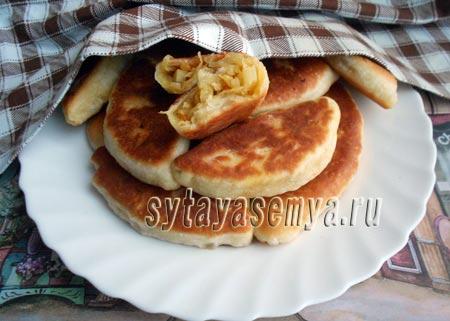 Пирожки со свежей капустой (2 вариант)