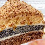 Пирожное с орехами или с маком Пирожные