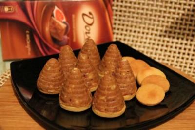Пирожные «Осиные гнезда» Пирожные