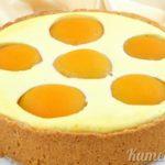 Пирожные с персиками и ананасами Выпечка Пирожные