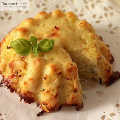 Плокштайнис (картофельный пудинг) Литовская кухня
