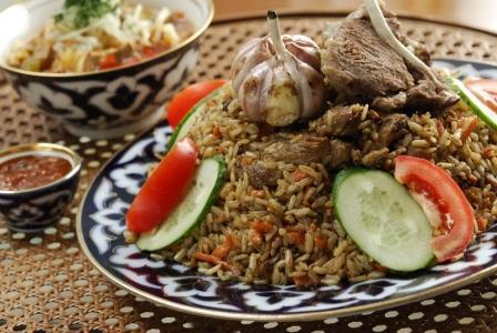 Плов «Пир арабов» Вторые блюда Пловы