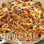 Плов по-крестьянски Крупяные блюда Турецкая кухня