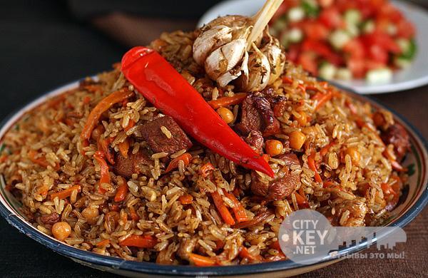 Плов по-турецки Вторые блюда Пловы