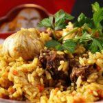 Плов с бараниной, запеченный в горшочках Узбекская кухня