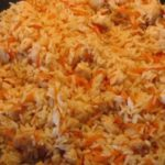 Плов с курицей и алычой Узбекская кухня