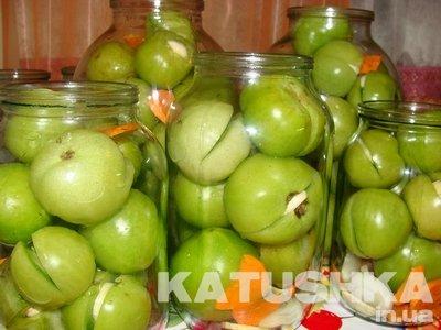 Помидоры, маринованные по-грузински Заготовки, консервирование