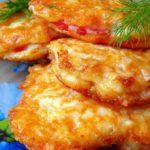 Помидоры «Сырный праздник» Из овощей Помидоры