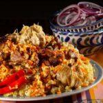Праздничный плов Узбекская кухня