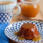 Пудинг с карамельным соусом Выпечка
