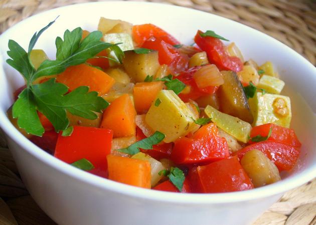 Рагу из овощей Из овощей