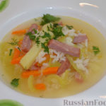 Рисовый суп с помидорами Первые блюда Турецкая кухня