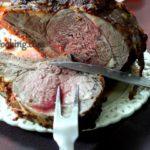 Ростбиф «Праздничный» Вторые блюда Праздничный стол