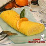 Рулет апельсиновый Выпечка Пироги