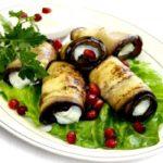 Рулетики из баклажанов Баклажаны Из овощей