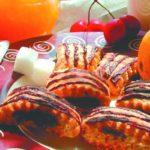 Рулетное печенье с повидлом Выпечка Пироги