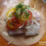 Рыба, отваренная в пергаменте Рыбацкая кухня
