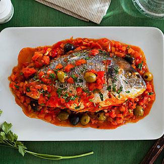 Рыба по-турецки Блюда из рыбы и морепродуктов Турецкая кухня