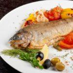 Рыба с грибами по-сицилийски Блюда из рыбы Вторые блюда