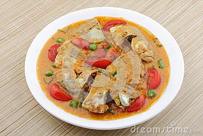 Рыба с карри и кокосом Блюда из рыбы Вторые блюда
