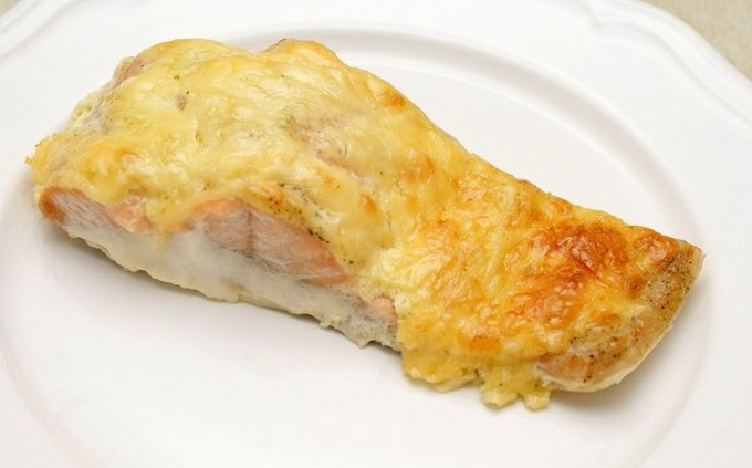 Рыба, запеченная с сыром Закуски
