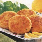 Рыбные котлеты Блюда из рыбы и морепродуктов Турецкая кухня