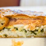 Рыбный пирог с рисом Русская кухня