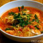 Рыбный суп по-гански Африканская кухня