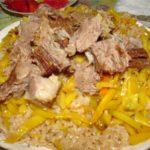 Сафаки-палов Узбекская кухня