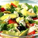 Салат из авокадо с брынзой Салаты