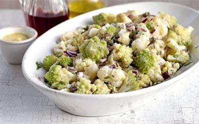 Салат из цветной капусты Овощные блюда Турецкая кухня