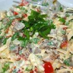 Салат из говядины Русская кухня