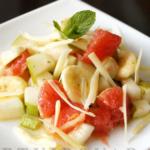 Салат из груш и грейпфрутов Десерты Фруктовые десерты